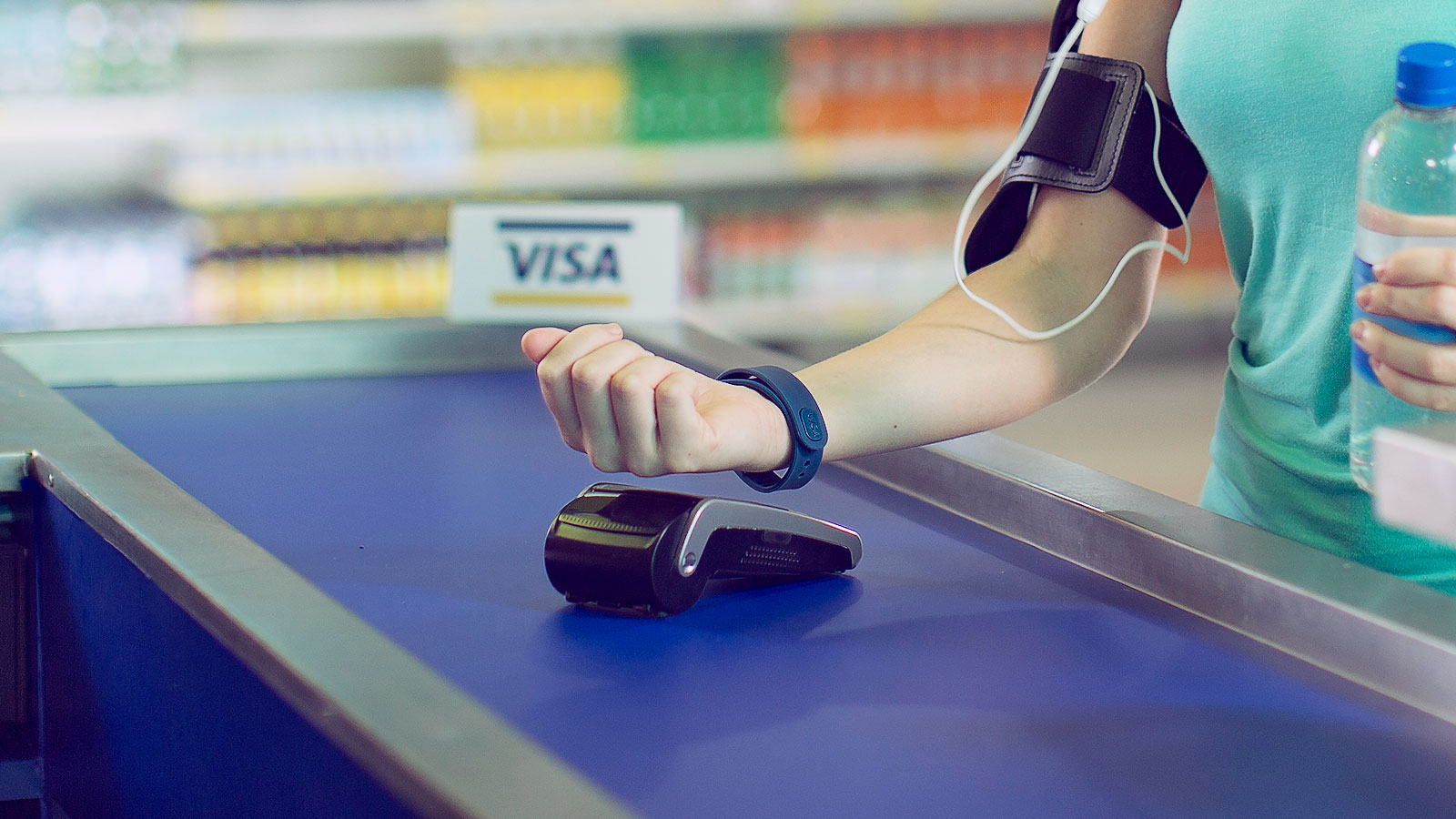 Visa - Pay while you work out